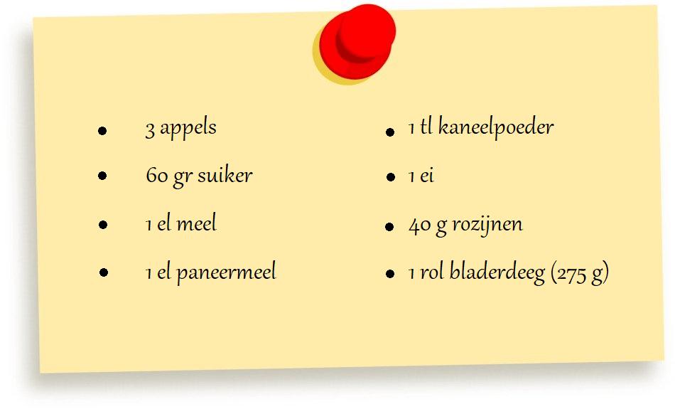 Recept Apfelstrudel