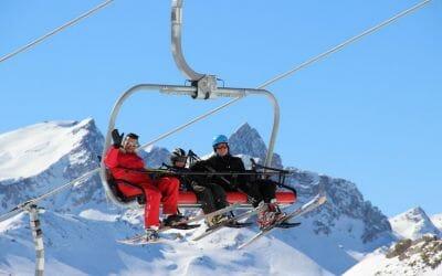 Wintersport in Valfréjus