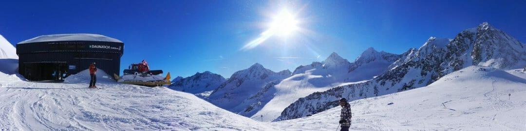Skigebieden zongarantie