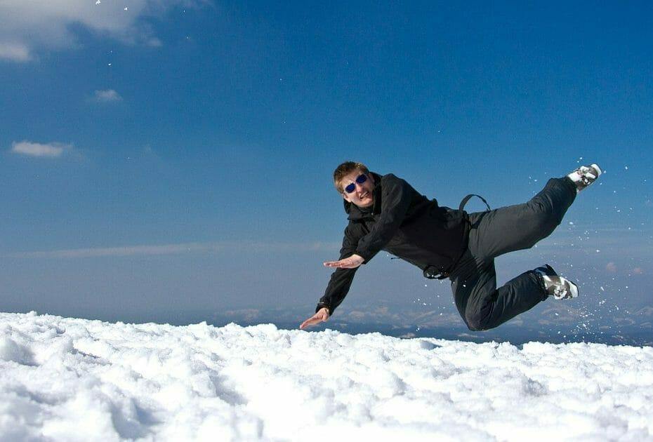 5 awkward situaties op wintersport